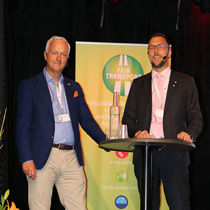 Sveriges Åkeriföretag berättar om Fair Transport