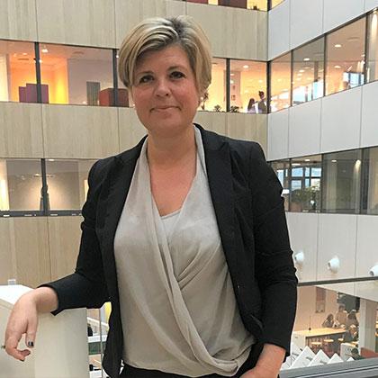 Åsa Meivert Rydén, ansvarig för logistikinköp på Ica Sverige.